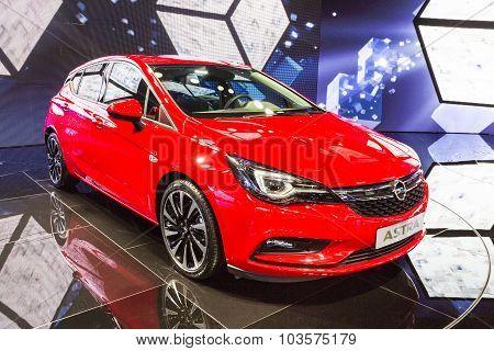 2016 Opel Astra K Sports Tourer