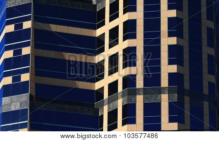 Modern exterior office building