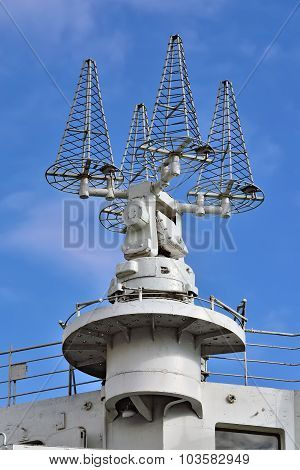 Shipboard Satellite Communication Antennas