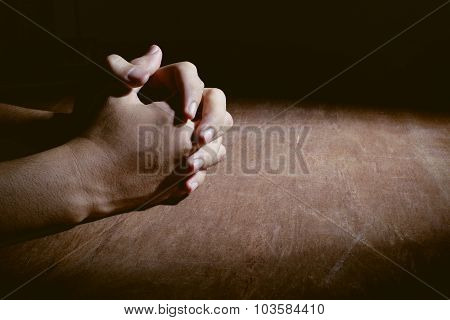 Hands Of Praying