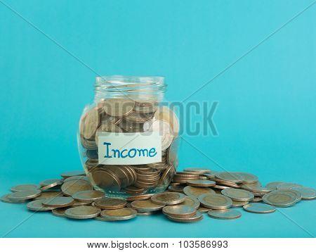 Income Money Jar