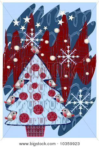 Groovy Christmas design