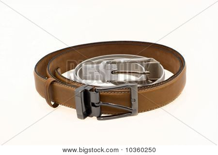 Women's And Men's Leather Belts