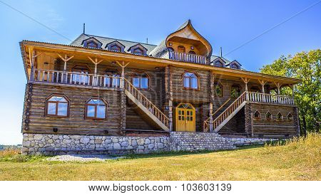 Beautiful Wooden Building