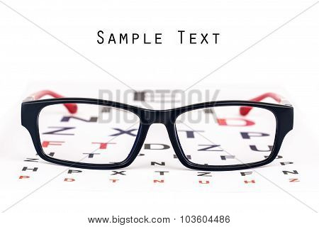 Eye Care Specs And Chart