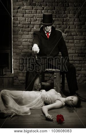 Vampire And His Victim