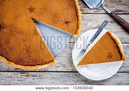 Homemade Pumpkin Pie