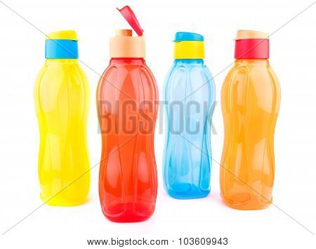 Colorful Pet Water Bottles