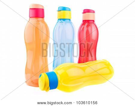 Colorful Water Bottles