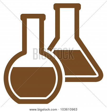 Glass Flasks Icon