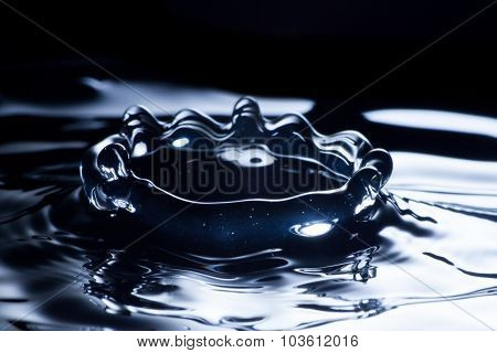 Water Drop Macro, Clean And Fresh Liquid