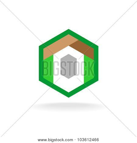 Real Estate Construction Business Logo Template