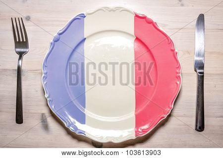 Dinner Plate France