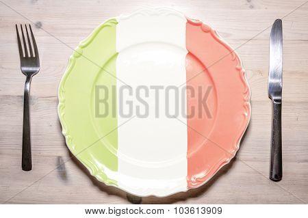 Dinner Plate Italy