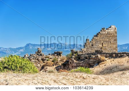 Side East Necropolis Fort Ruins