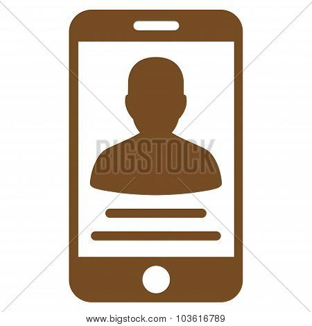Patient Mobile Account Icon