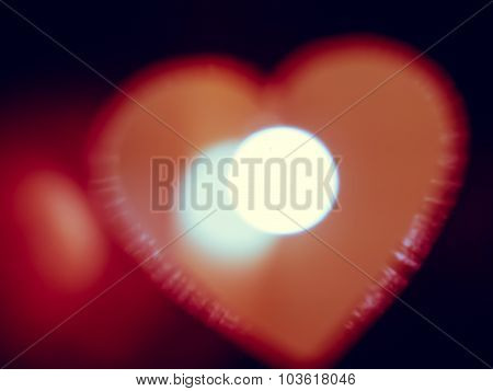 Heart Shape Light