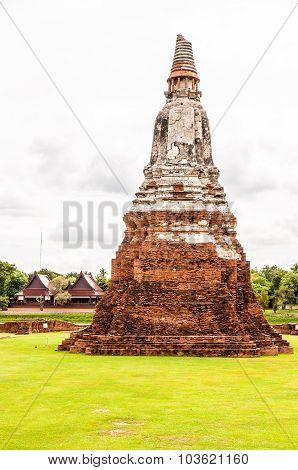 Old stupa at Ayuthaya, Thailand