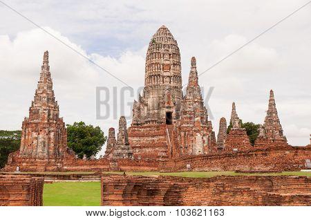 Old pagoda at Ayuthaya