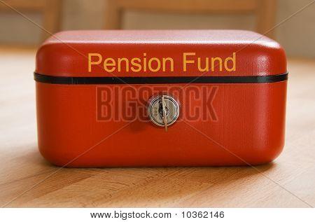 Pension Fund Savings Tin