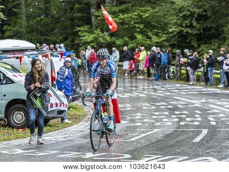 The Cyclist Zakkari Dempster - Tour De France 2014