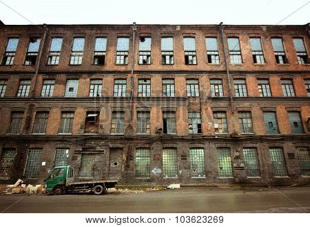 Abandoned Factory, Saint-petersburg