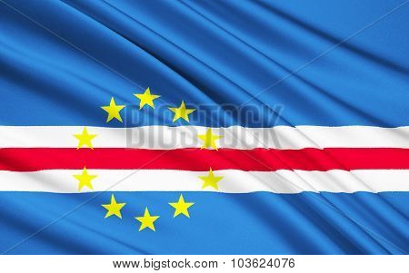 Flag Of Cape Verde Islands - Republic Of Cabo Verde