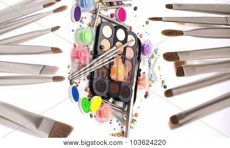 Colorful Make-up Set