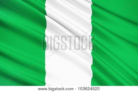 Flag Of Nigeria, Abuja