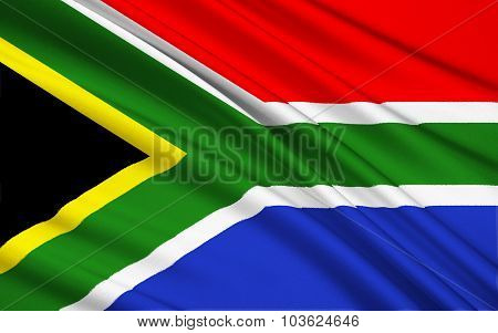 Flag Of South Africa, Pretoria