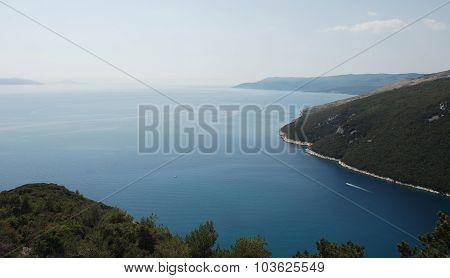 Istrian Coast Near Plomin
