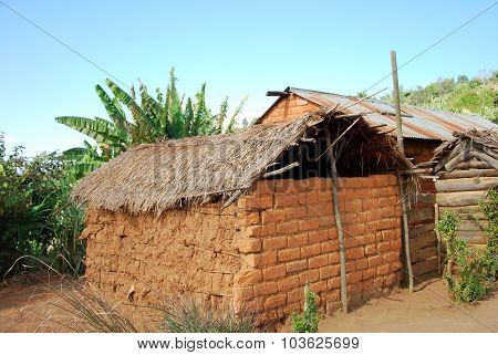 The Houses Of The Village Of Nguruwe In Tanzania, Africa 94