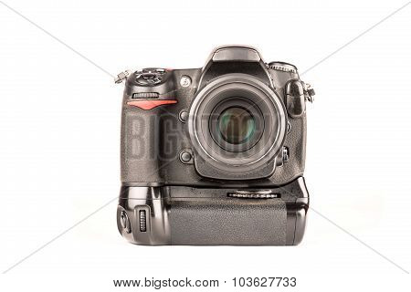 Dslr Camera Front View