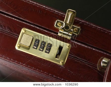 Briefcase With Opened Lock
