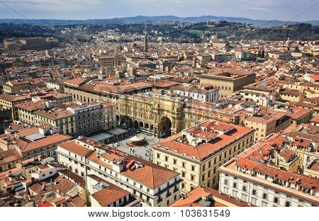 View From Florence Duomo