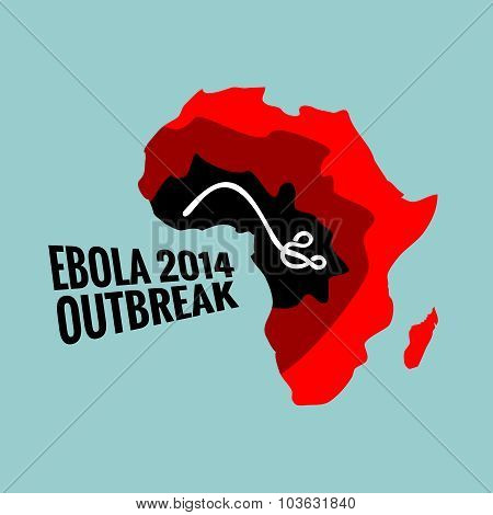Ebola Virus 2014 Outbreak Illustration
