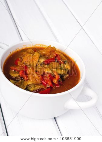 letcho with paprika