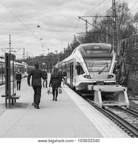 HELSINKI, FINLAND - APRIL 21