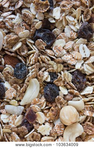 High quality dry muesli