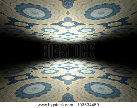 Floor And Ceiling Infinite Abstract Background Texture