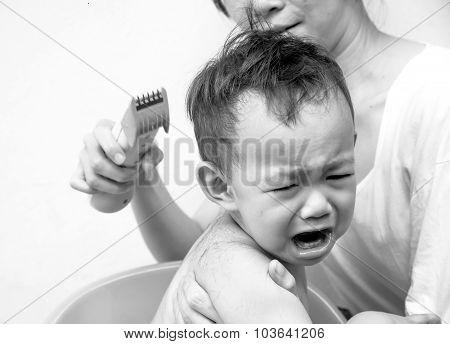 Thai Baby Hair Cut
