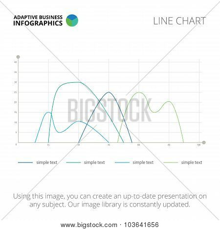 Line chart template 1