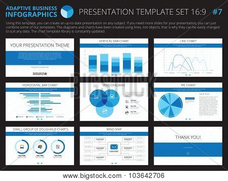 Presentation template set 7