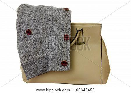 Handbag With Sweatshirt