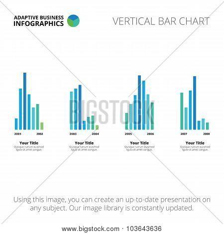 Vertical bar chart template 1