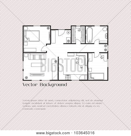 House plan background