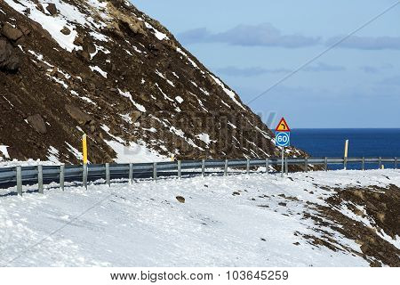 Ring Road In Iceland, Spring