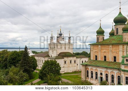 Assumption Cathedral In Goritsky Monastery. Pereslavl-zalessky.
