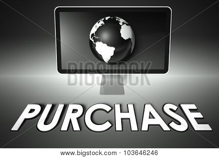 Screen And Globe With Purchase, E-commerce