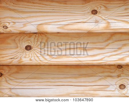 Wooden Timbered Wall